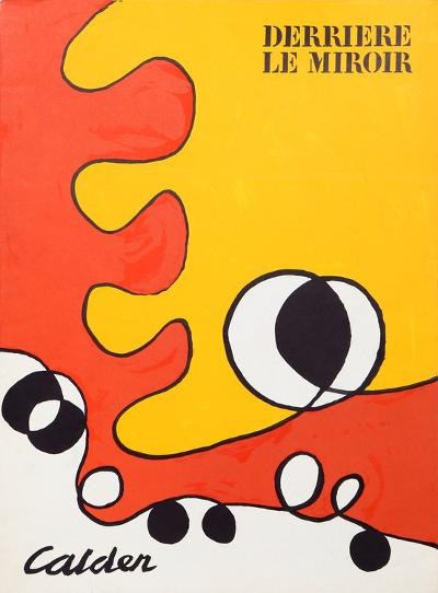Abstract (Cover) from Derriere Le Miroir-Alexander Calder-Collectable Print