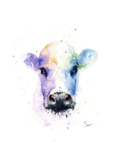 Abstract Cow-Eric Sweet-Art Print