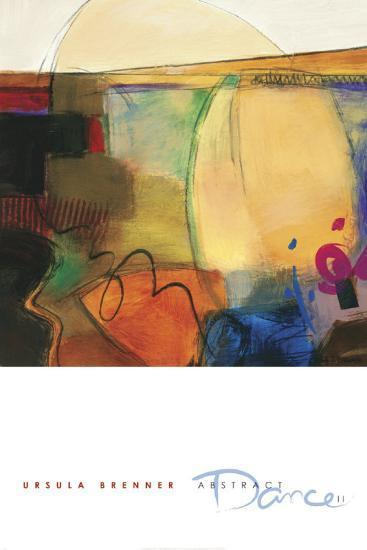 Abstract Dance II-Ursula Brenner-Art Print