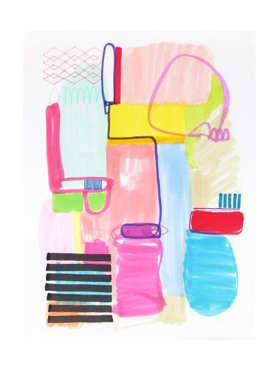 Abstract Drawing 10-Jaime Derringer-Giclee Print