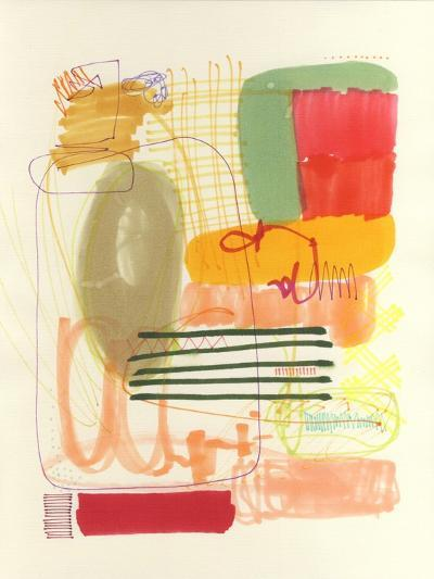 Abstract Drawing 12-Jaime Derringer-Giclee Print