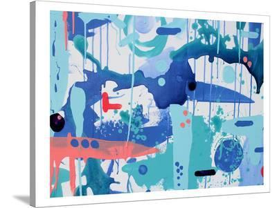 Abstract Drips-Deb McNaughton-Stretched Canvas Print