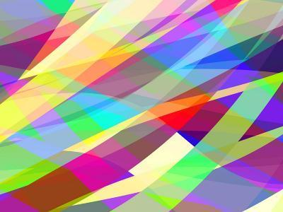 Abstract Editable Vector Background of Many Colors-Robert Adrian Hillman-Art Print