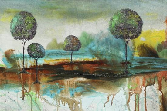 Abstract Fantasy Landscape-Jean Plout-Giclee Print