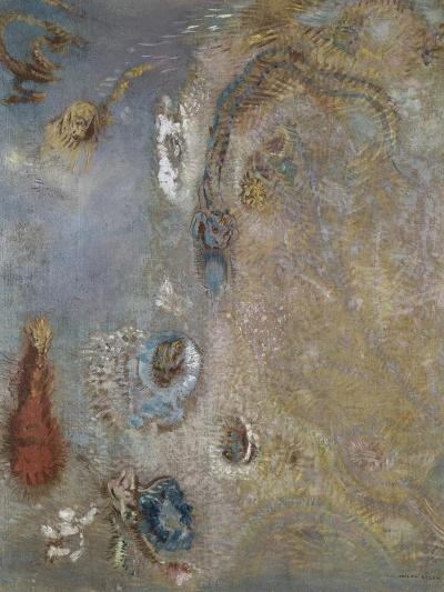 Abstract Fantasy-Odilon Redon-Giclee Print