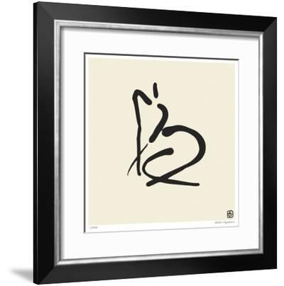 Abstract Female Nude II-Ty Wilson-Framed Giclee Print