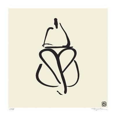 Abstract Female Nude III-Ty Wilson-Giclee Print