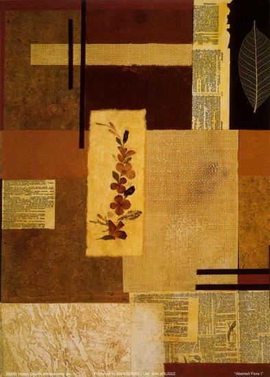 Abstract Flora I--Art Print