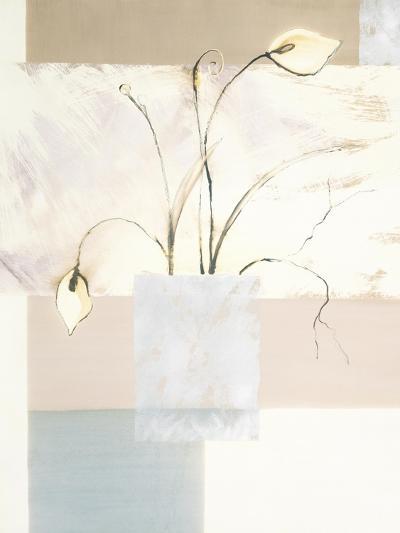 Abstract Floral, no. 2-Stephanie Flateau-Art Print