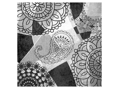 Abstract Floral Pattern-Irena Orlov-Art Print