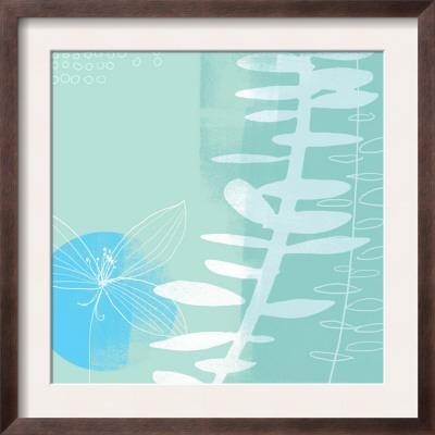 Abstract Flower and Fern