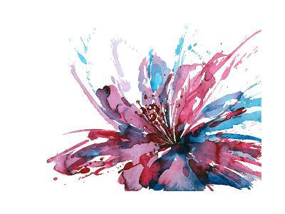 Abstract Flower-okalinichenko-Art Print