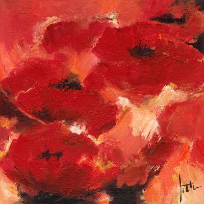 Abstract Flowers II-Jettie Roseboom-Art Print