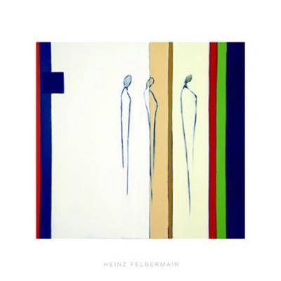Abstract Forms, c. 2005-Heinz Felbermair-Serigraph