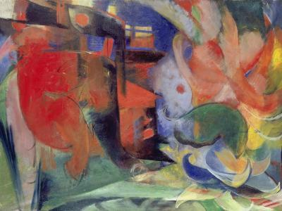 Abstract Forms II, 1914-Franz Marc-Giclee Print