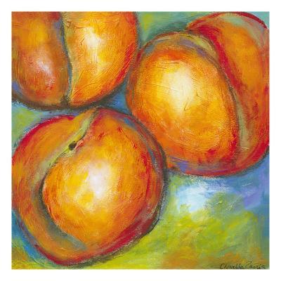 Abstract Fruits II-Chariklia Zarris-Art Print