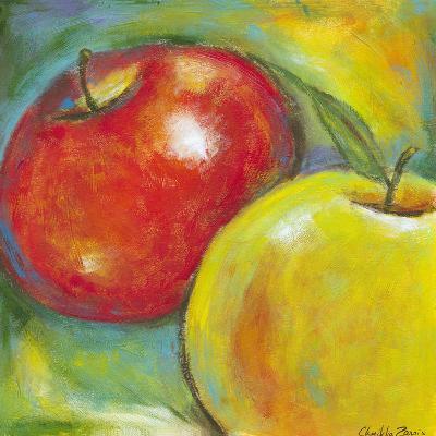Abstract Fruits IV-Chariklia Zarris-Art Print