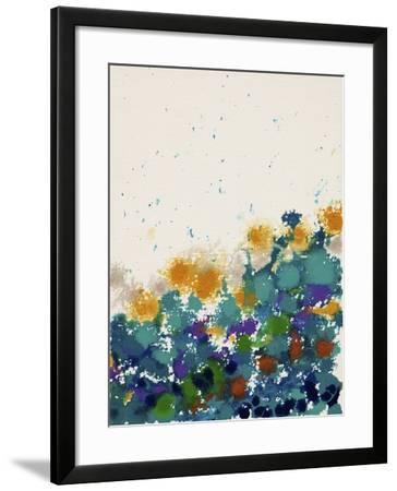 Abstract Garden 1-Hilary Winfield-Framed Giclee Print
