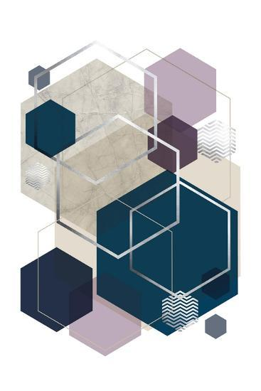 Abstract Geo SoftLuxe-Urban Epiphany-Art Print