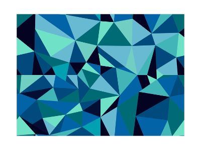 Abstract Geometric Pattern-cienpies-Art Print