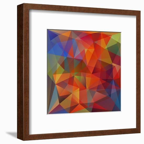 Abstract Geometrical Background-epic44-Framed Premium Giclee Print