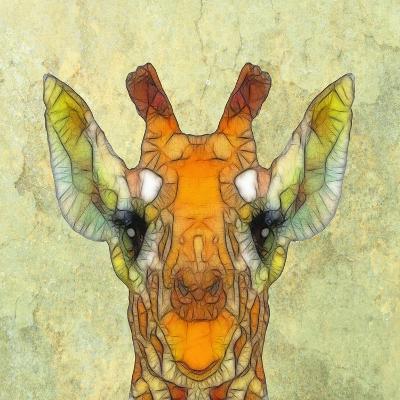 Abstract Giraffe Calf-Ancello-Art Print