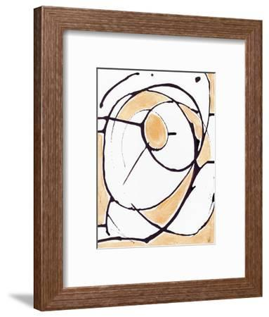 Abstract Gold II-Anne Seay-Framed Art Print