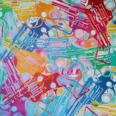 Abstract Pop Guns by Abstract Graffiti