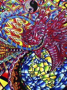African Dragon by Abstract Graffiti