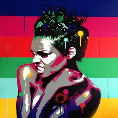 Afro Punk 1 by Abstract Graffiti