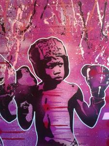 Boxer Kid 2 by Abstract Graffiti