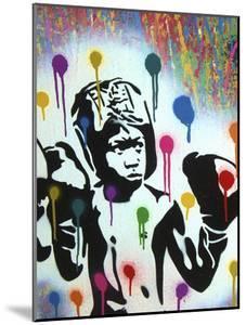Boxer V Pollock by Abstract Graffiti