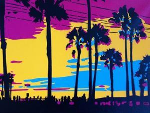 California Sunset by Abstract Graffiti