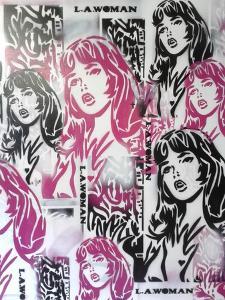 L.A.Woman 2 by Abstract Graffiti