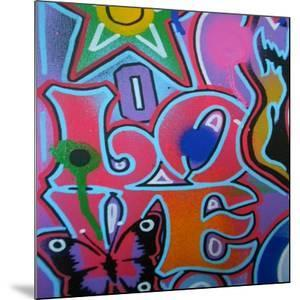 Love by Abstract Graffiti