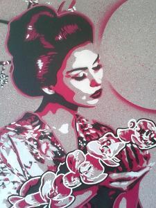 Marble Geisha by Abstract Graffiti