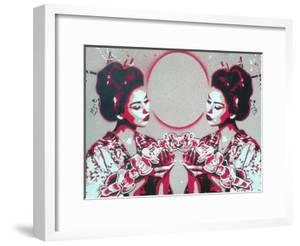 Mirror Geisha by Abstract Graffiti