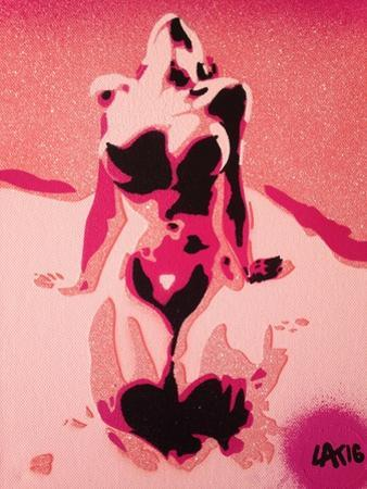 Pink Nude by Abstract Graffiti