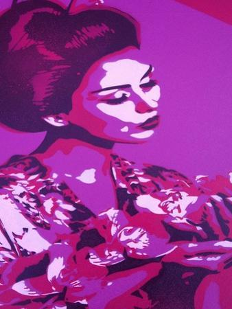 Purple Geisha by Abstract Graffiti