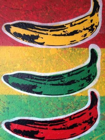 Rasta Banana by Abstract Graffiti