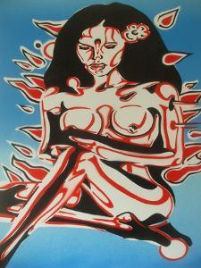 Tiki Girl by Abstract Graffiti