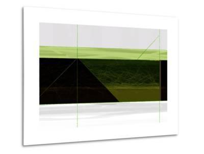 Abstract Green Geometric-NaxArt-Metal Print