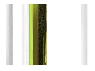 Abstract Green on White-NaxArt-Art Print