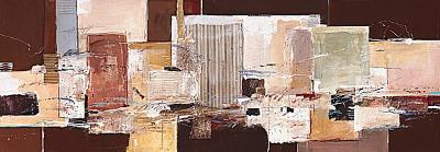 Abstract Harmony IX-Ron van der Werf-Art Print