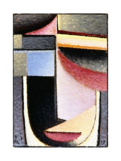 Abstract Head: the Chalice Passed Me, 1929-Alexej Von Jawlensky-Giclee Print