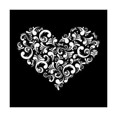 Abstract Heart-Kumer-Art Print