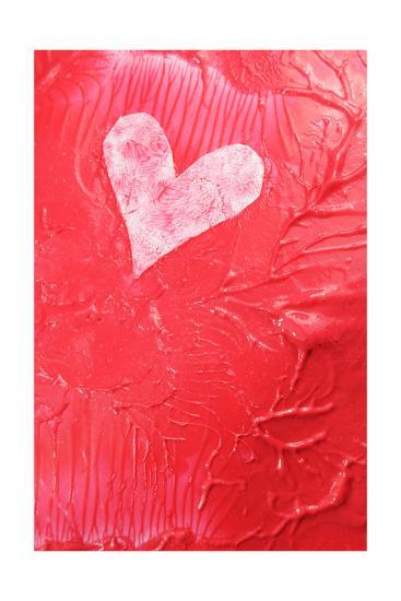 Abstract Heart-Lucian Milasan-Art Print