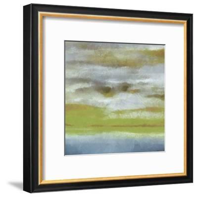 Abstract Horizon-Taylor Greene-Framed Art Print