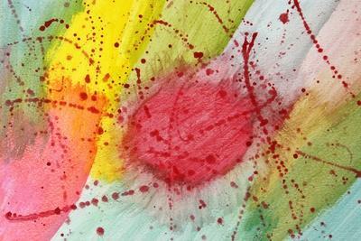 Abstract Hot Spot-M@Benoit-Art Print