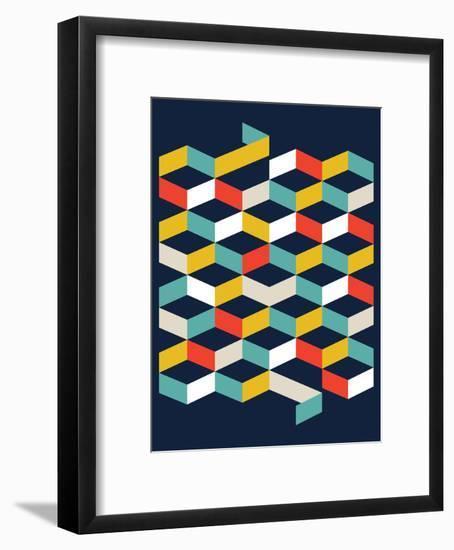 Abstract II-Patricia Pino-Framed Art Print